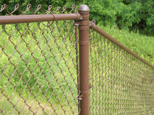 Galvanized Chain Link Fences - Aluminum Fences Turnstile Gates