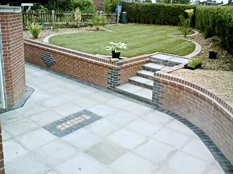 1000 images about garden ideas on pinterest paving for Paved garden ideas designs